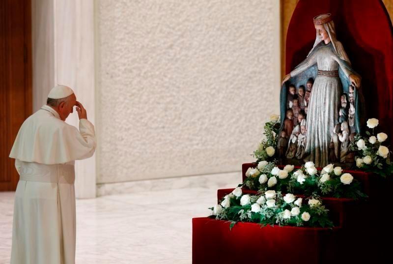 Papa pred Gospom