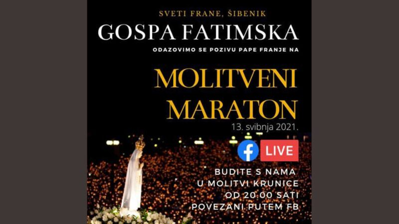 Molitveni maraton s papom Franjom