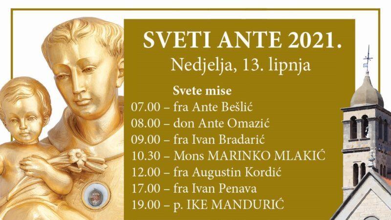 Blagdan sv. Ante 2021.